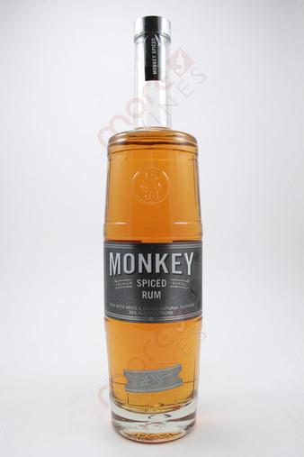 Zane Lamprey Monkey Premium Barrel Spiced Rum 750ml
