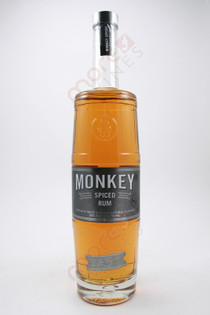 Zane Lamprey Monkey Premium Barrel Spiced Rum 750ml