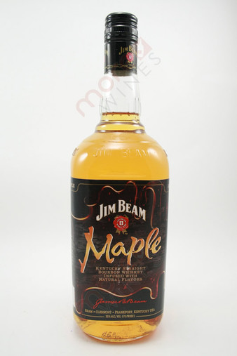 Jim Beam Maple Flavored Kentucky Straight Bourbon Whiskey 1L