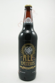 Left Coast Ale Epeteios Imperial Stout 22fl oz