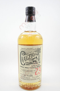 Craigellachie 23 Year Old Single Malt Scotch Whisky 750ml