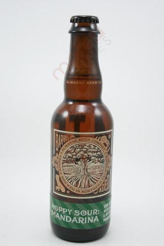 Almanac Farm to Barrel Hoppy Sour Mandarina Sour Blonde Ale 375ml