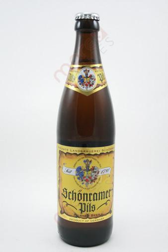 Private Landbrauerei Schonram Schonramer Pils 500ml