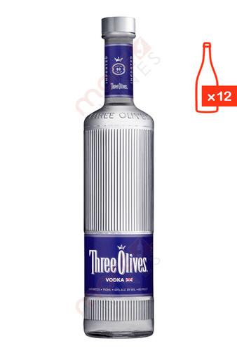 Three Olives Vodka 750ml (Case of 12) FREE SHIPPING $12.99/Bottle