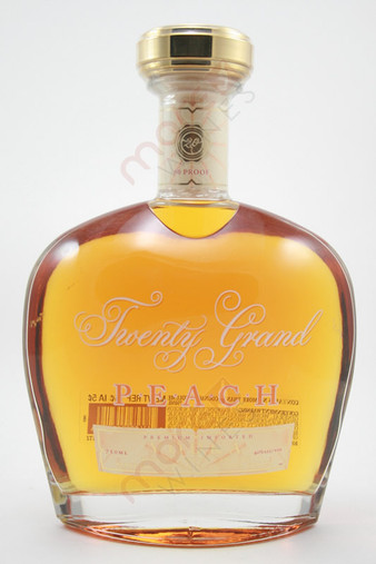Twenty Grand Peach Vodka 750ml