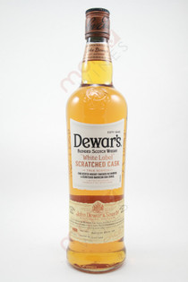 Dewar's White Label Scratched Cask Blended Scotch Whisky 750ml