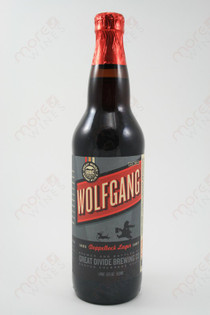 Great Divid Brewering Wolfgang Doppelbock Lager 22fl oz
