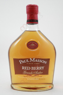 Paul Masson Red Berry Grande Amber Brandy 750ml