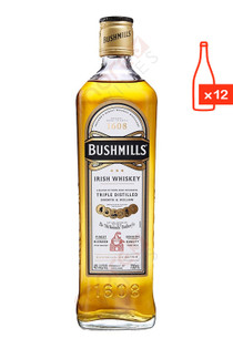 Bushmills Original Blended Irish Whiskey Free Shipping Case