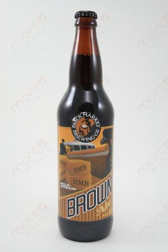 Black Market Brewing Brown Ale 22fl oz