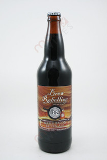 Brew Rebellion Maple Bacon Brown Ale 22fl oz