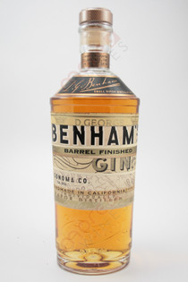 Benham's Barrel Finished Gin 750ml