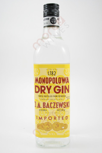 Monopolowa Dry Gin 1L