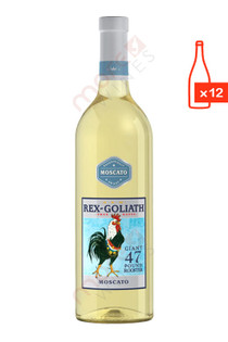 Rex Goliath Mascato 750ml (Case of 12) FREE SHIPPING $8.99/Bottle