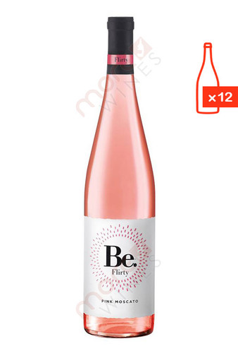 Be Flirty Pink Moscato Case FREE SHIP