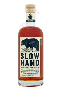 Greenbar SLOW HAND Six Woods Cask Strength Organic Whiskey 750ml