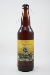 Brew Rebellion Pineapple Honey Wheat 22fl oz