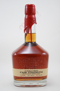 Maker's Mark Cask Strength Kentucky Straight Bourbon Whisky 750ml