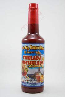 El Super Lider Chelada Michelada liquida 750ml