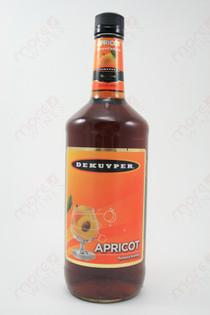 Dekuyper Apricot Flavored Brandy 1L