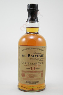 The Balvenie Caribbean Cask 14 Year Old Single Malt Scotch Whisky 750ml