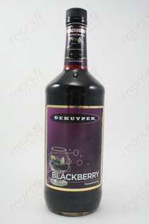 Dekuyper Blackberry Flavored Brandy 1L