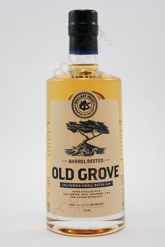 Ballast Point Old Grove Barrel Rested Small Batch Gin 750ml