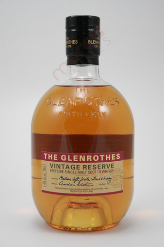 The Glenrothes Vintage Reserve Single Malt Scotch Whisky 750ml