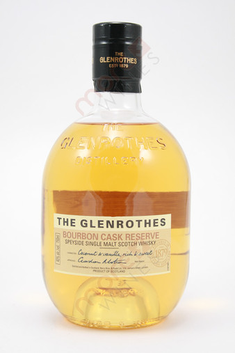 The Glenrothes Bourbon Cask Reserve Single Malt Scotch Whisky 750ml