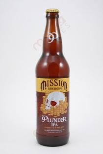 Mission Brewery Plunder IPA 22fl oz