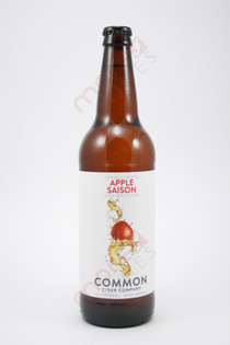Common Cider Company Apple Saison Hard Cider 22fl oz