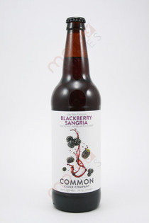 Common Cider Company Blackberry Sangria Apple Cider 22fl oz