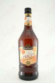 Hiram Walker Apricot Flavored Brandy 1L