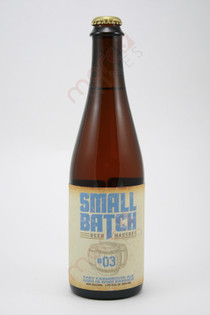 Small Batch Tast Farmhouse Ale #03 22fl oz