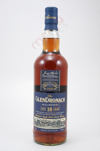 Glendronach Allardice 18 Year Old Single Malt Scotch Whisky 750ml