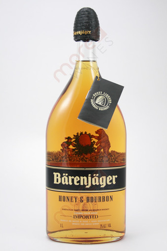 Teucke & Koenig Barenjager Honey & Bourbon Liqueur 1L