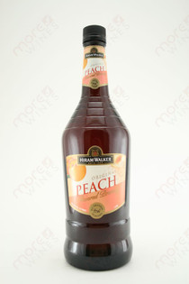 Hiram Walker Peach Flavored Brandy 1L