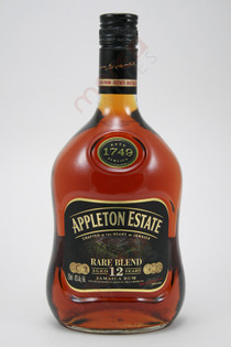 Appleton Estate 12 Year Old Rum 750ml