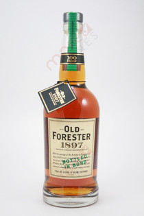 Old Forester 1897 Bottled In Bond Kentucky Straight Bourbon Whiskey 750ml