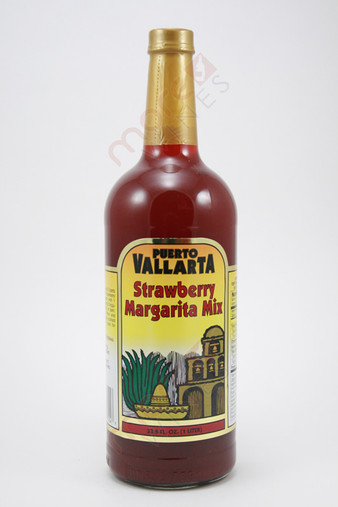 Puerto Vallarta Strawberry Margarita Mix 1l Morewines