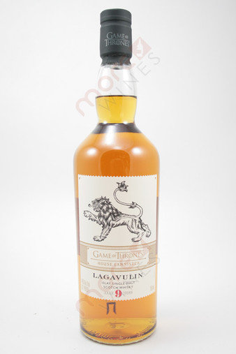 Lagavulin Game Of Thrones House Lannister 9 Year Old Single Malt Scotch Whisky 750ml