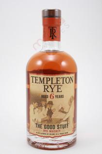 Templeton Rye The Good Stuff 6 Year Old Rye Whiskey 750ml