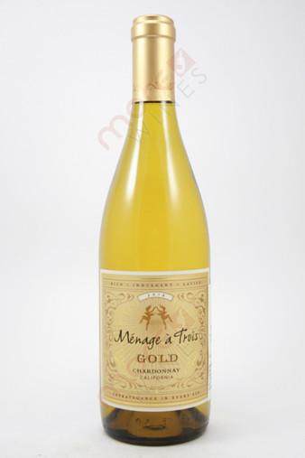 Menage a Trois Gold Chardonnay 750ml