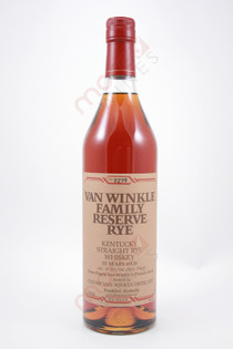 Van Winkle Family Reserve Rye 13 Year old Rye Whiskey 750ml