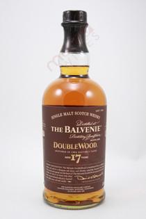 The Balvenie DoubleWood 17 Year Old Single Malt Scotch Whisky 750ml