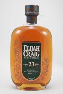 Elijah Craig 23 Year Old Single Barrel Straight Bourbon Whiskey 750ml