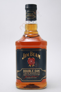 Jim Beam Double Oak Twice Barreled Straight Bourbon Whiskey 750ml