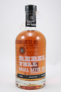 Rebel Yell Small Batch Straight Rye Whiskey 750ml