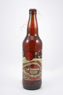 New Belgium Lips of Faith Series Le Terroir Dry Hopped Sour Ale 22fl oz