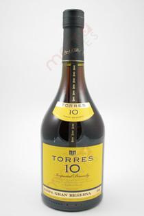 Torres 10 Imperial Gran Reserva Brandy 750ml